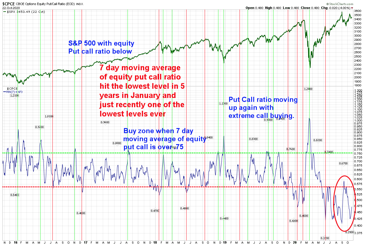 Sentiment Gauges in the Stock Market Continue to be a Concern