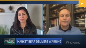 Stocks will fall at least 30% in a drawn-out bear market, investor David Tice warns